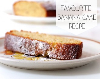 easy and delicious banana cake recipe