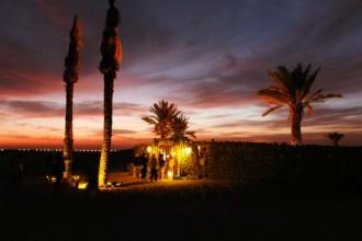 Bedouin campsite in Dubai desert mypoppet.com.au