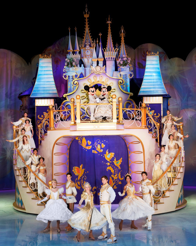 Disney on Ice tours Australia