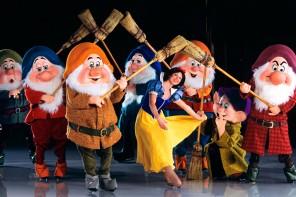 Snow white Disney on ice