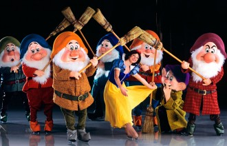 Snow white Disney on ice