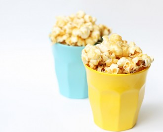 Salted caramel popcorn - Lolly Gobble Bliss Bombs Recipe - Mypoppet.com.au