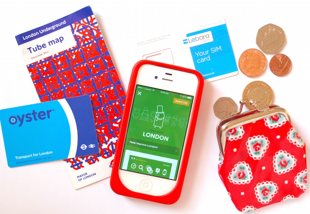 Top 5 things you need when travelling in London