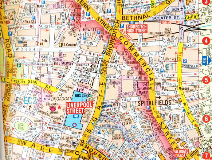 A to Z map london