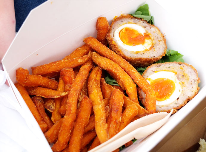 scotch eggs borough market london