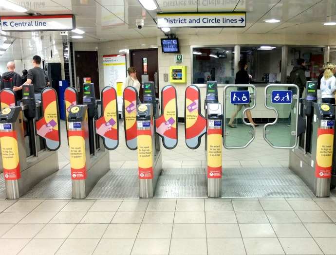 London underground travel tips