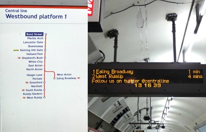 london tube tips