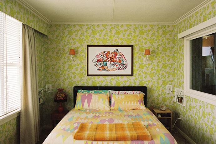 Frankie Spaces Vol 3 Vintage wallpaper bedroom