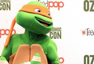 TMNT Melbourne Oz Comic Con 2015