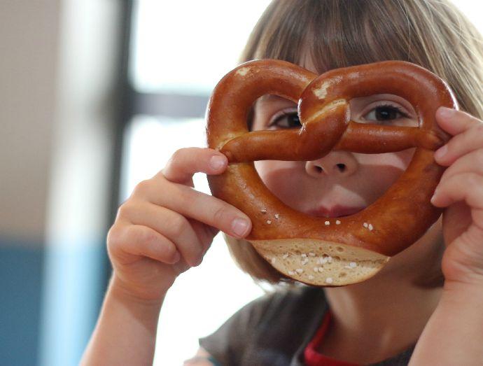 pretzel face