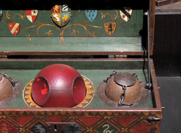 Quidditch balls