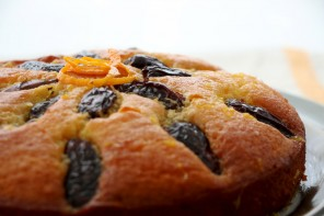 Orange & Date Syrup Cake