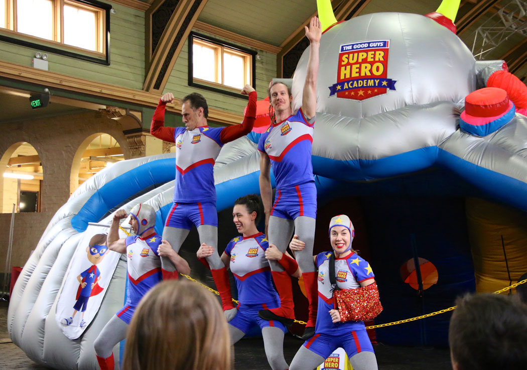 Super Hero Academy Circus Oz