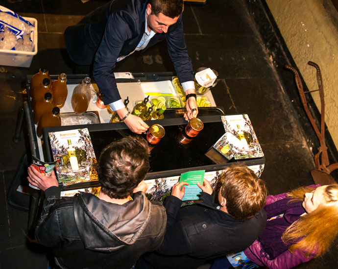 An arresting night at the Old Melbourne Gaol Gin Pop-Up Bar Melbourne Event