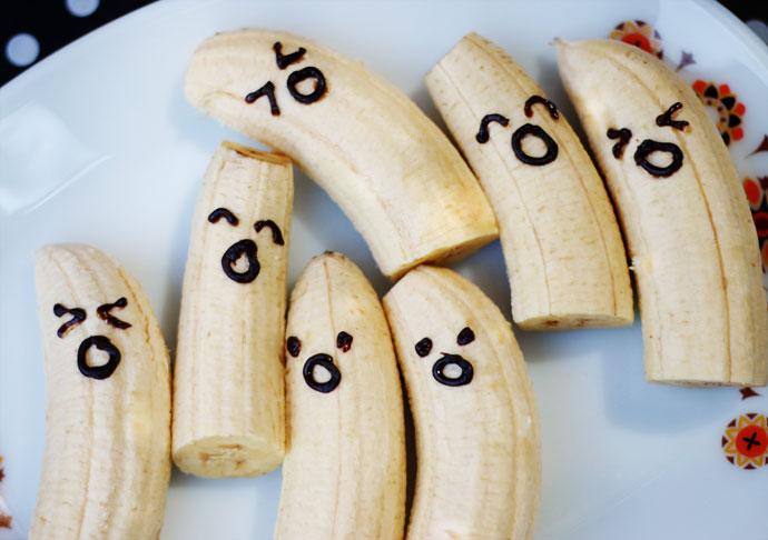 Boo-nanas Ghost bananas