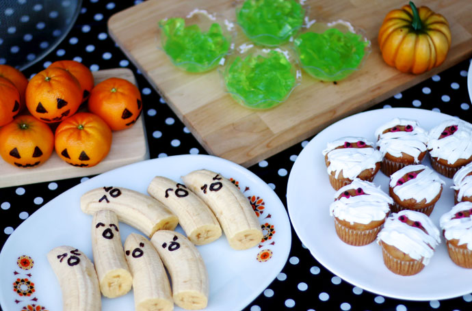 Healthy Halloween Party food ideas