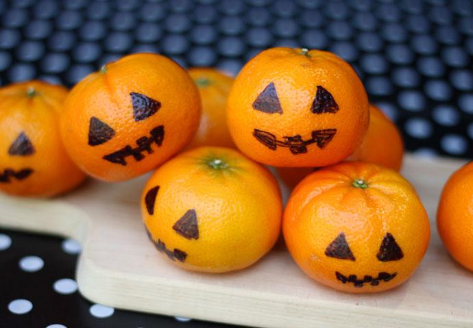 Jack o lantern Mandarins