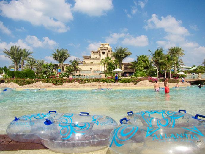 Aquaventure waterpark Duabi Lagoon