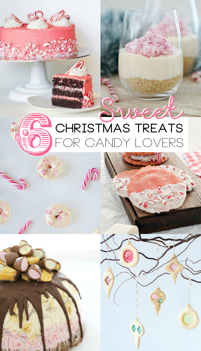 6 christmas dessert, cake and treat ideas for the candy lover