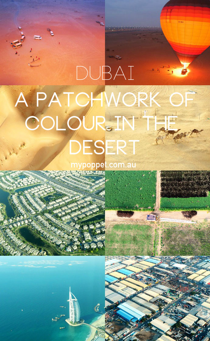 Dubai arial photography - views from above