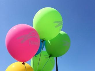australian open balloons