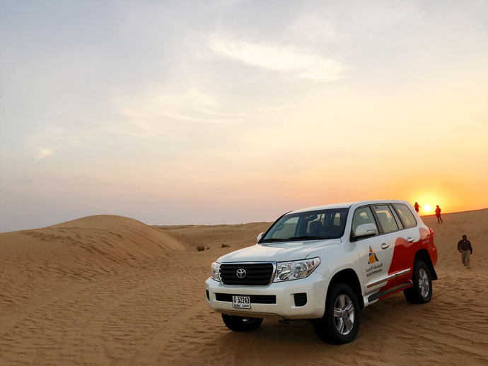 Arabian adventure - duabi desert tour