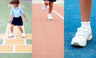 back to school - sports shoes