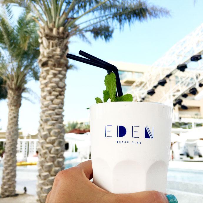 eden beach club drink dubai