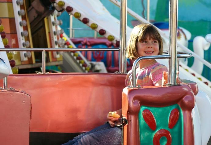Arabian Merry luna park ride