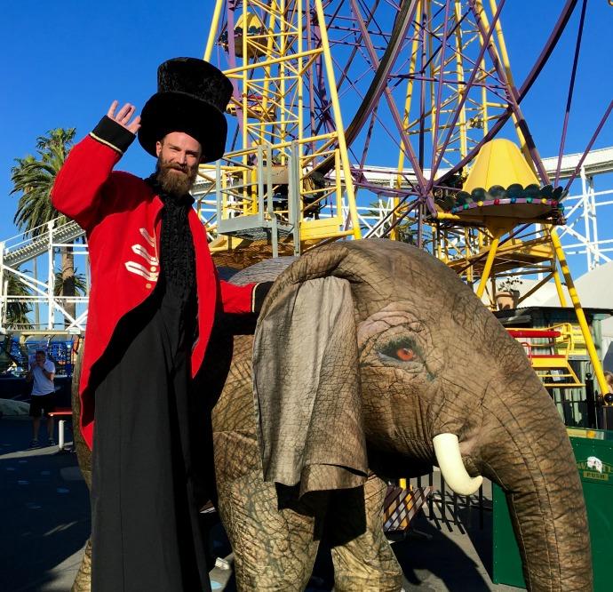 luna park elephant