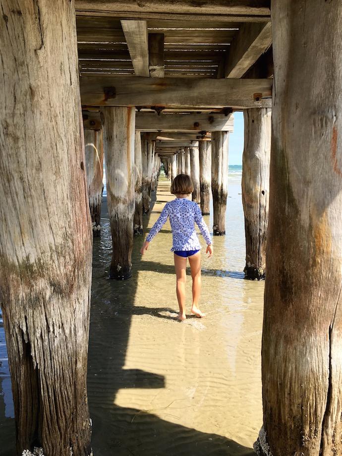 altona beach pier