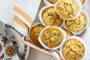Polenta, Coriander & Corn Muffins
