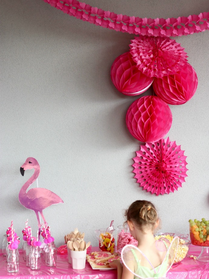 Pink Flamingo party ideas and supplies