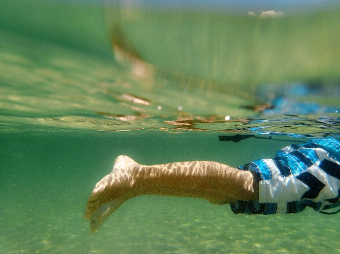 sesame ellis beach underwater