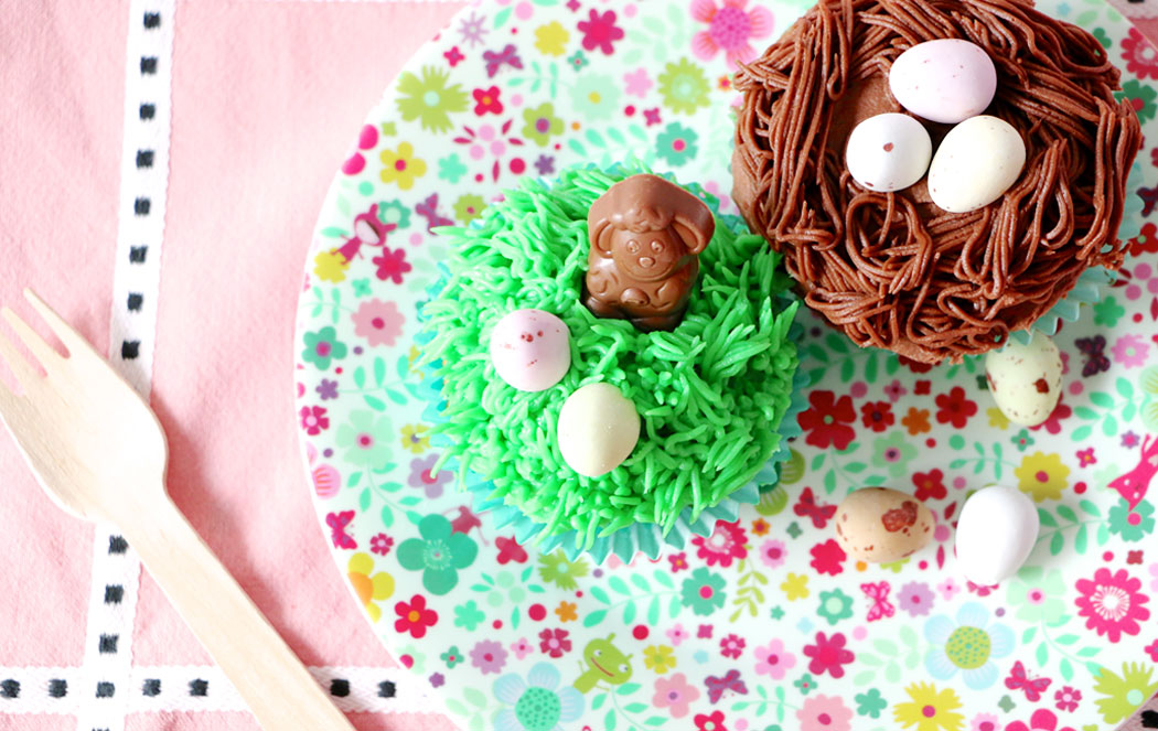 3 Easter cupcakes ideas and recipe