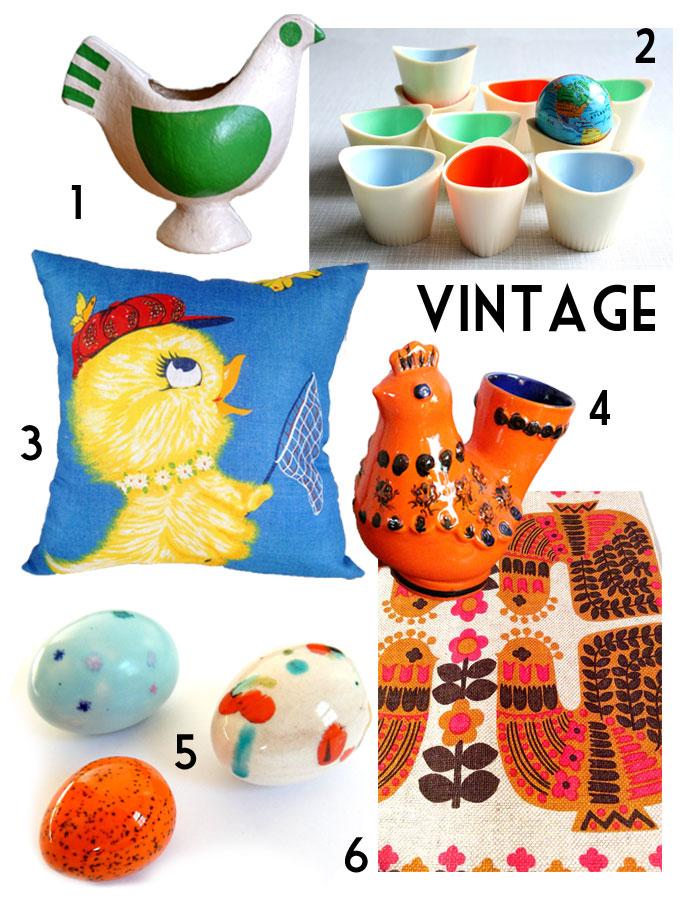 Etsy home decor shopping guide easter - Easter decor