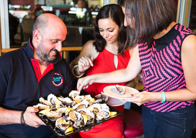 Port Phillip Mussel Festival 2016 Launch - oysters