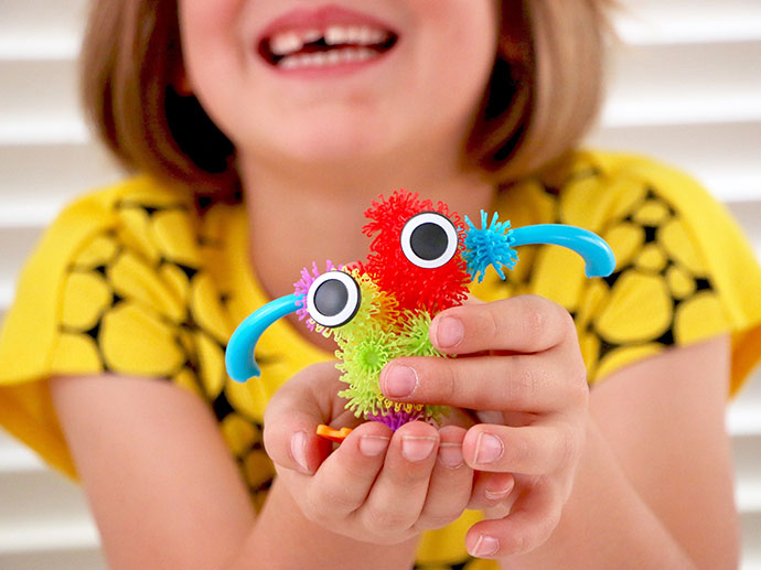 Bunchems toy review and giveaway - great for sensory play