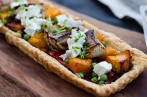 Easy Pumpkin & Fennel Vegetable Tart