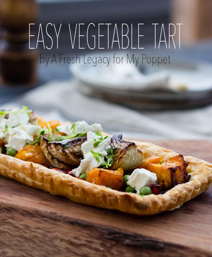 Pumpkin and Fenel Tart recipe