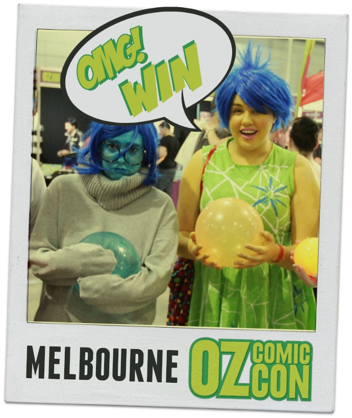 oz comic con melbourne ticket giveaway
