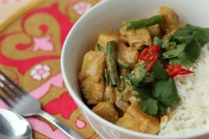 Poh's Recipe Box Challenge – Malaysian Coconut Chicken Curry Rice