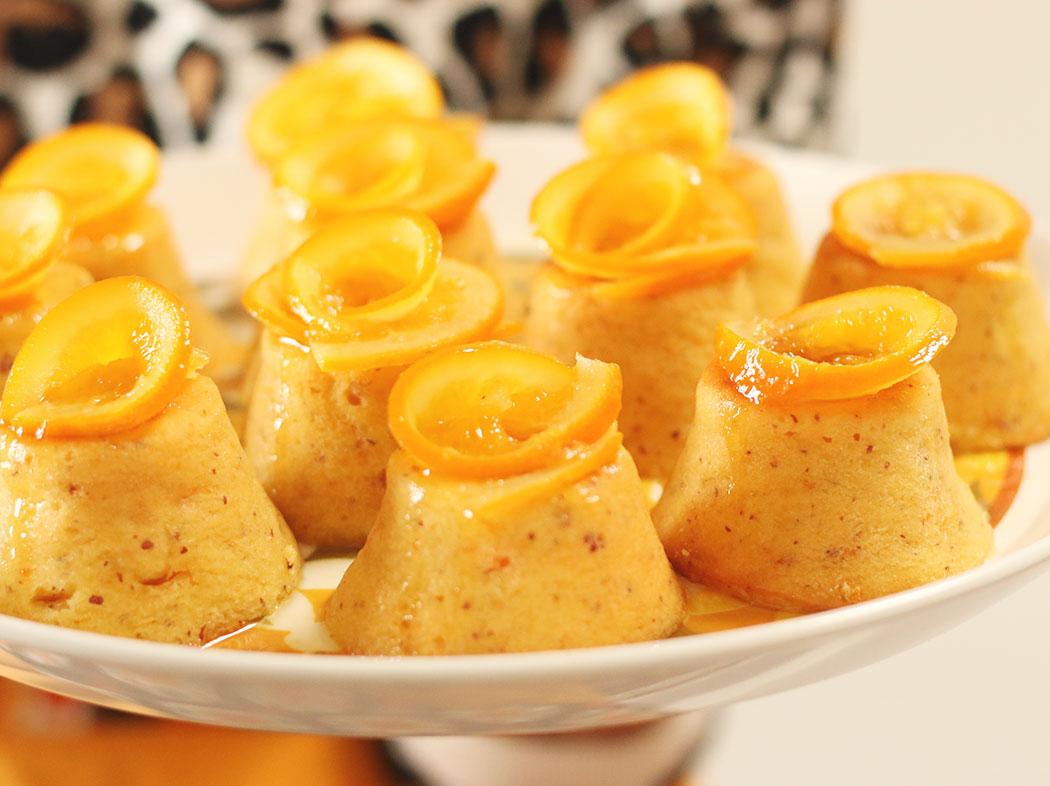 Whole Orange & Almond Mini Cakes with Orange Syrup - My ...