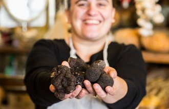 Truffle season South Melbourne market photo credit Kristyna Hess