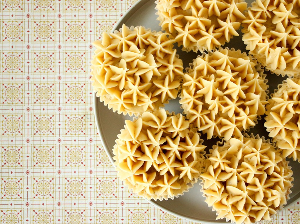 Banana Cupcakes with Kaya Jam Frosting Recipe mypoppet.com.au