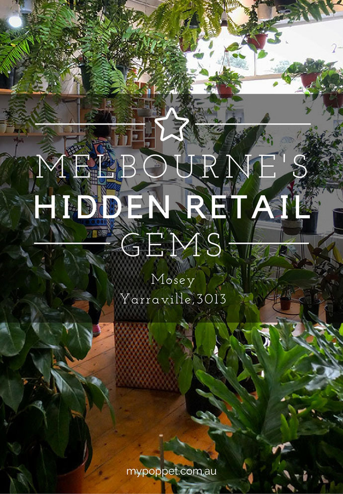 mosey, Yarraville Melbourne indoor plants shopping guide