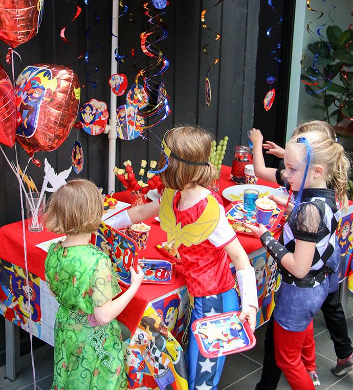 DC Superhero Girls Party Mypoppetau