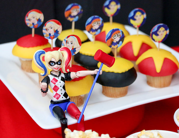 Emma\'s \'DC Super Hero Girls\' Party - Fun Party Food, Decorating ...