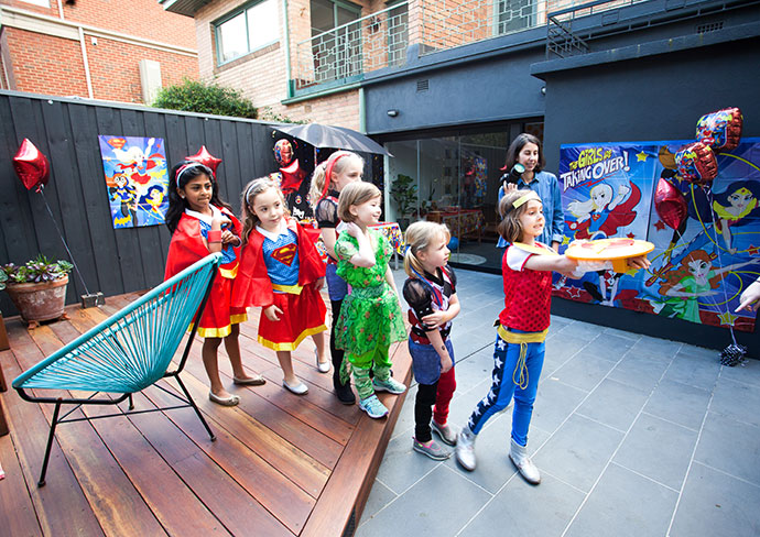 DC Superhero Girls Party Mypoppetau