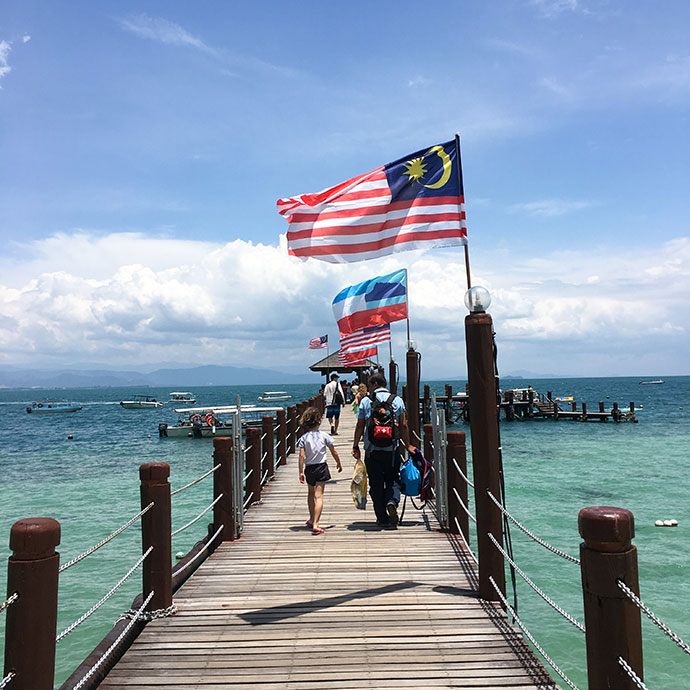 what to do in Sabah, Borneo Malaysia - Island hopping tour mypoppet.com.au